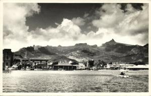 mauritius, PORT LOUIS, La Rade, Roadstead (1956) RPPC