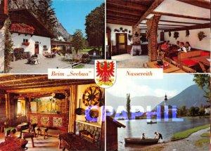 Modern Postcard Baden-Buffet Seebua Ruhige Lage am If Nassereither