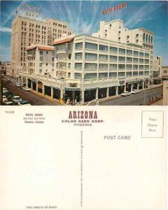 Hotel Adams Phoenix Arizona, AZ, Pre-zip Code Chrome