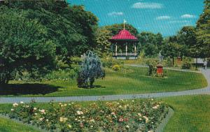 Canada Nova Scotia Halifax The Public Gardens Of Halifax 1963