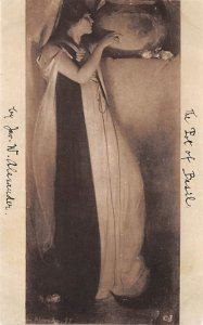 Art Post Card,Old Vintage Artist Postcard John W Alexnader PNA Boston, MA, US...