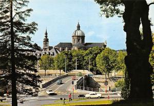 Belgium Namur Pont de l'Eveche et Cathedrale St Aubain Cars Voitures Pont