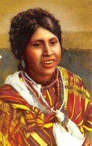 Indian Girls San Juan Sacate Guatemala, Central America Unused