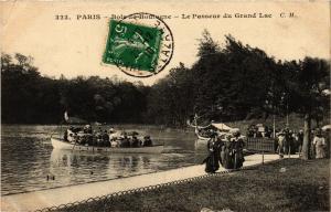 CPA PARIS 16e-Bois de Boulogne-Le Passeur du Grand Lac (325009)