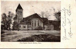 Massachusetts Malden First Baptist Church 1906