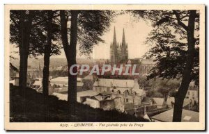 Old Postcard Quimper Veu general jack Frugy