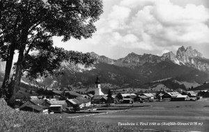 Tannheim im Tirol ROfluh Gimpel Church Panorama Postcard
