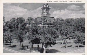 Kansas Fredonia Wilson County Courthouse