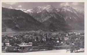 Austria Bad Hall mit Bettelwurf Real Photo