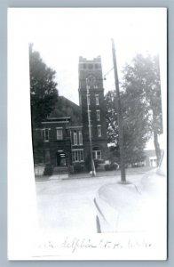 ARKDELPHIA ARK CLARK COUNTY COURT HOUSE VINTAGE REAL PHOTO POSTCARD RPPC
