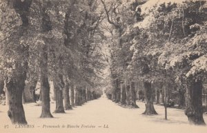 LANGRES, France, 1900-10s; Promenade de Blanche Fontaine