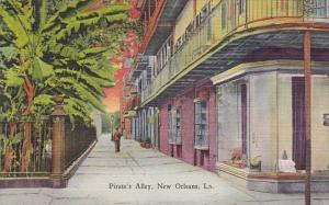 Louisiana New Orleans Pirates Alley