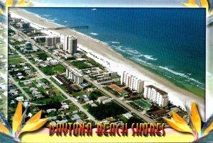 Florida Daytona Beach Shores Aerial View Looking North 2005