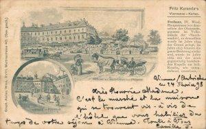 Austria Wien Vienna Fritz Kuranda´s Viennesa Karten 1898 05.08