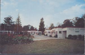 KNOXVILLE TN - WHITE CITY COURT Motel /  Hwys 11W & 70W, Kingston Pike  1950s