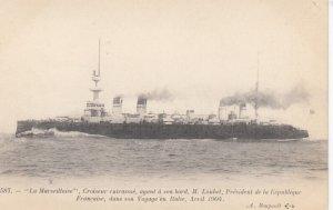 Warship : La Marseillaise , France , 1904