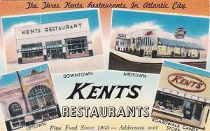 New Jersey Atlantic City P S Be To Stop At Kents Restaurant For Fine Food