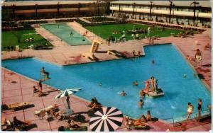 LAS VEGAS, NV Nevada    DUNES HOTEL & CASINO Caliph's Court   c1950s   Postcard
