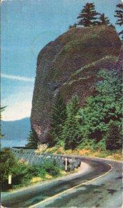 COLOUMBIA RIVER HIGHWAY Union Oil 14 VINTAGE Postcard