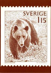 Stamps On Postcards 1978 Sweden