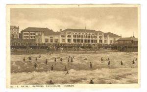 Natal: Bathing Enclosure , Durban , South Africa , 1910-30s