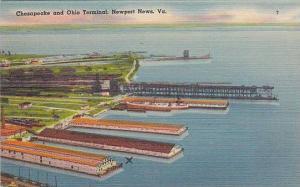 Chesapeake and Ohio Terminal, Newport News,   Virginia, 30-40s