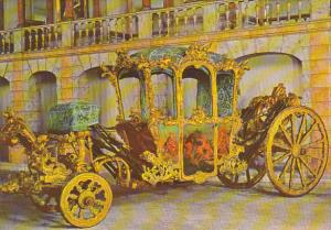 Portugal Lisboa Coach Of Princess Maria Benedita XVIIIth Century National Museum