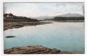Bay & Beach Point Au Pic Quebec Canada 1906 postcard