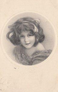 VIENNE , Victorian Girl , 1911 ; M MUNK Nr 371