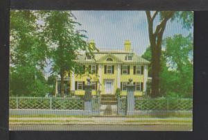 Longfellow Home,Cambridge,MA Postcard