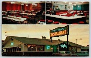 South Dakota~Neon Sign For Taylor's Restaurant Dining Room~Bar~1960s Cars PC
