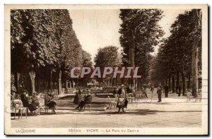 Vichy - Casino Park - Old Postcard