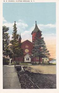 Methodist Episcopal Church - Clifton Springs NY, New York - WB