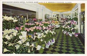 Illinois Chicago Edgewater Beach Hotel Flower Shop