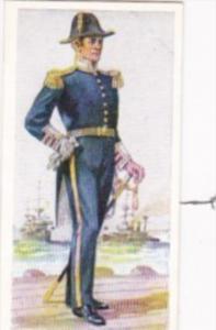 Carreras Vintage Cigarette Card Naval Uniforms No 42 Chief Engineer 1880