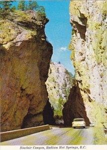 Canada Sinclair Canyon Radium Hot Springs British Columbia