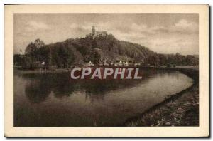 Old Postcard Hluboka