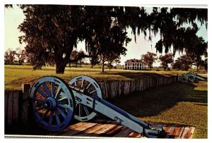 Chalmette National Historical Park, behind the batteries