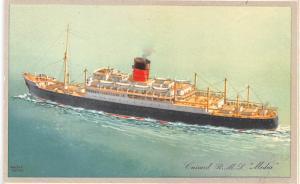 Cunard RMS Media Ship Unused