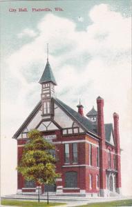 PLATTEVILLE, Wisconsin, 1900-1910's; City Hall