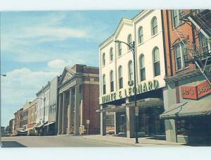 Pre-1980 STREET SCENE Salisbury Maryland MD W1275