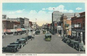 FARGO , North Dakota , 1910s ; Broadway , North