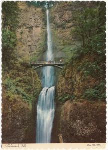Multnomah Falls, Oregon, unused Postcard