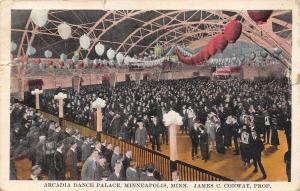 Minneapolis MN Marie B Checks Cloaks @ The Arcadia Dance Palace~1920s Postcard