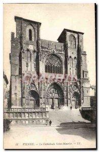 Postcard Old Vienna Cathedrale Saint Maurice