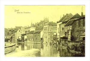 Gand , Quai des Tonneliers , Belgium , PU-1907