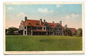 Vinland Estate McKown Twombley Residence Newport Rhode Island 1916 postcard
