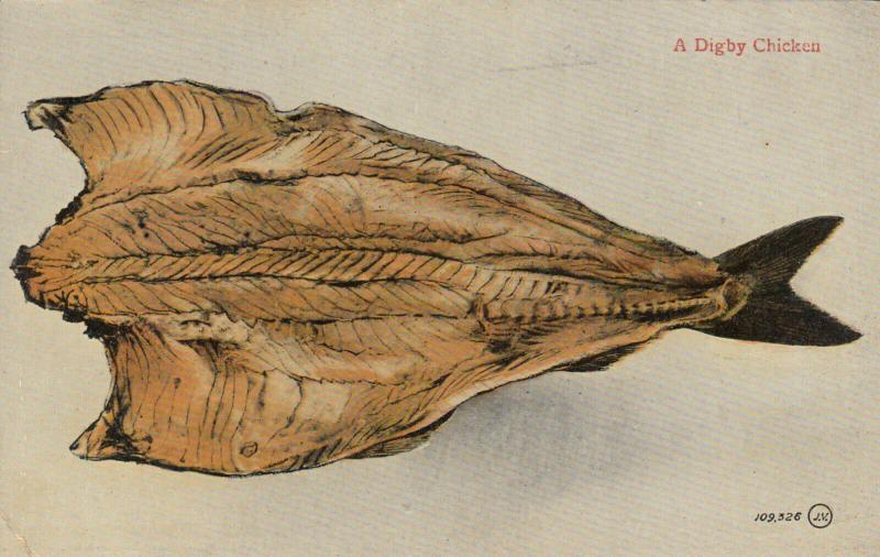 A DIGBY Chicken , Nova Scotia , Canada , 00-10s