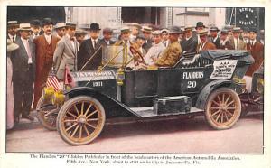 Advertising Post Card Flanders 20 Glidden Pathfinder Jacksonville, Florida US...