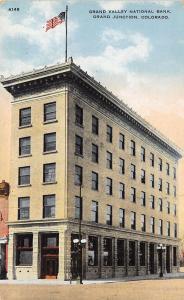 Grand Junction Colorado~Grand Valley National Bank~Coen Real Estate c1914